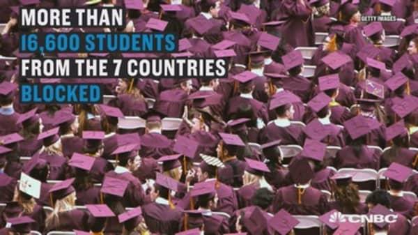 Universities react to Trump's policies