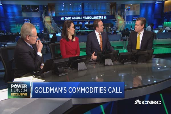 Goldman's Currie: US oil consumers ultimately will pay for border adjustment tax
