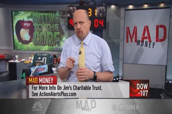 Cramer: Here's how Apple's stock could surge back to its old high