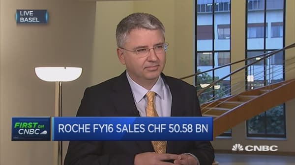 We've made significant progress in our product portfolio: Roche CEO