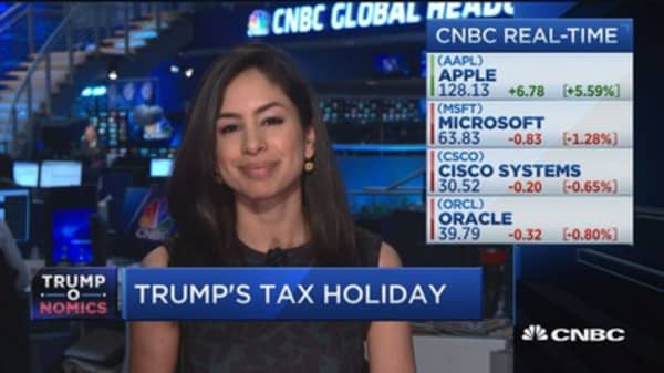 Who gains the most from Trump's tax holiday?