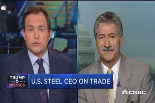 U.S. Steel CEO on job creation