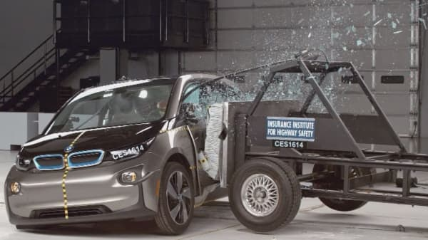 Tesla and BMW fall short in electric vehicle crash tests