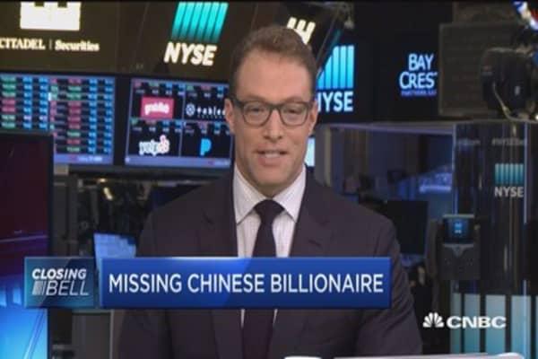 Missing Chinese billionaire?
