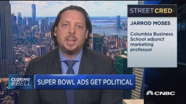Super Bowl ad gets political?