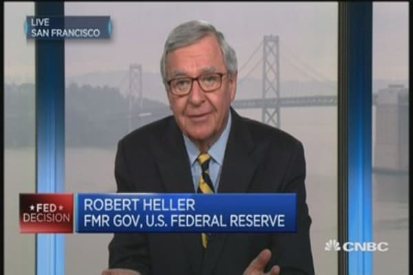 Fed is years behind the curve: Former Fed Gov