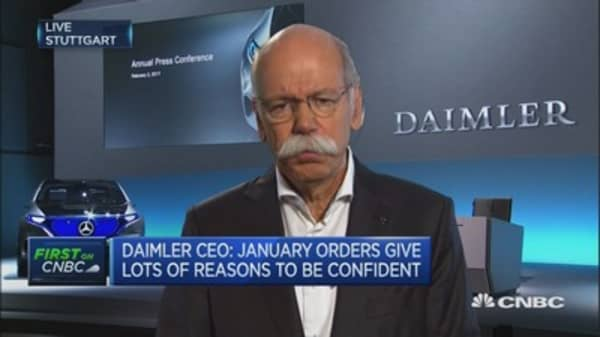 We should follow the 100 day rule on Trump: Daimler CEO