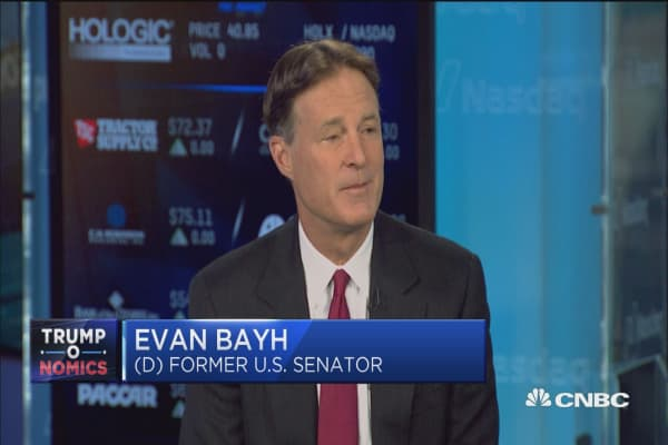 Dem's Gorsuch fillibuster will be 'self-defeating': Evan Bayh