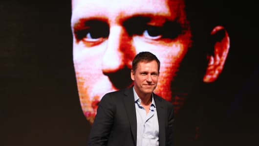 Peter Thiel, co-founder of PayPal Inc.
