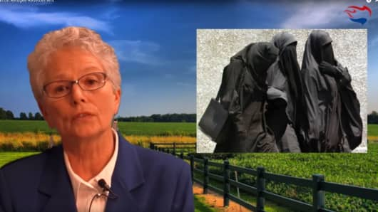 "An image from the video ""Ann Corcoran on Refugee Resettlement"""