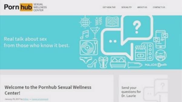 Pornhub now offers sex education service