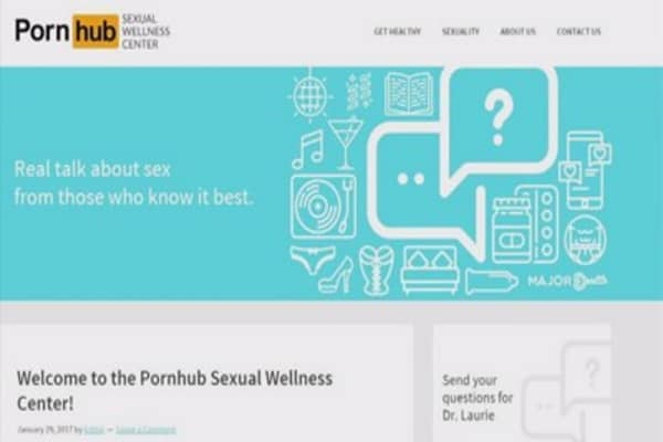 Pornhub now offers sex education service