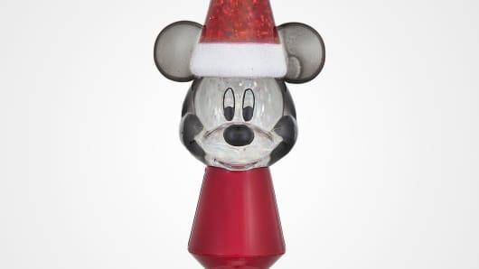 Happy Holidays! Mickey Mouse Nightlight
