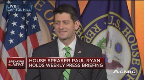 Paul Ryan: Important for leaders to have private and candid conversations