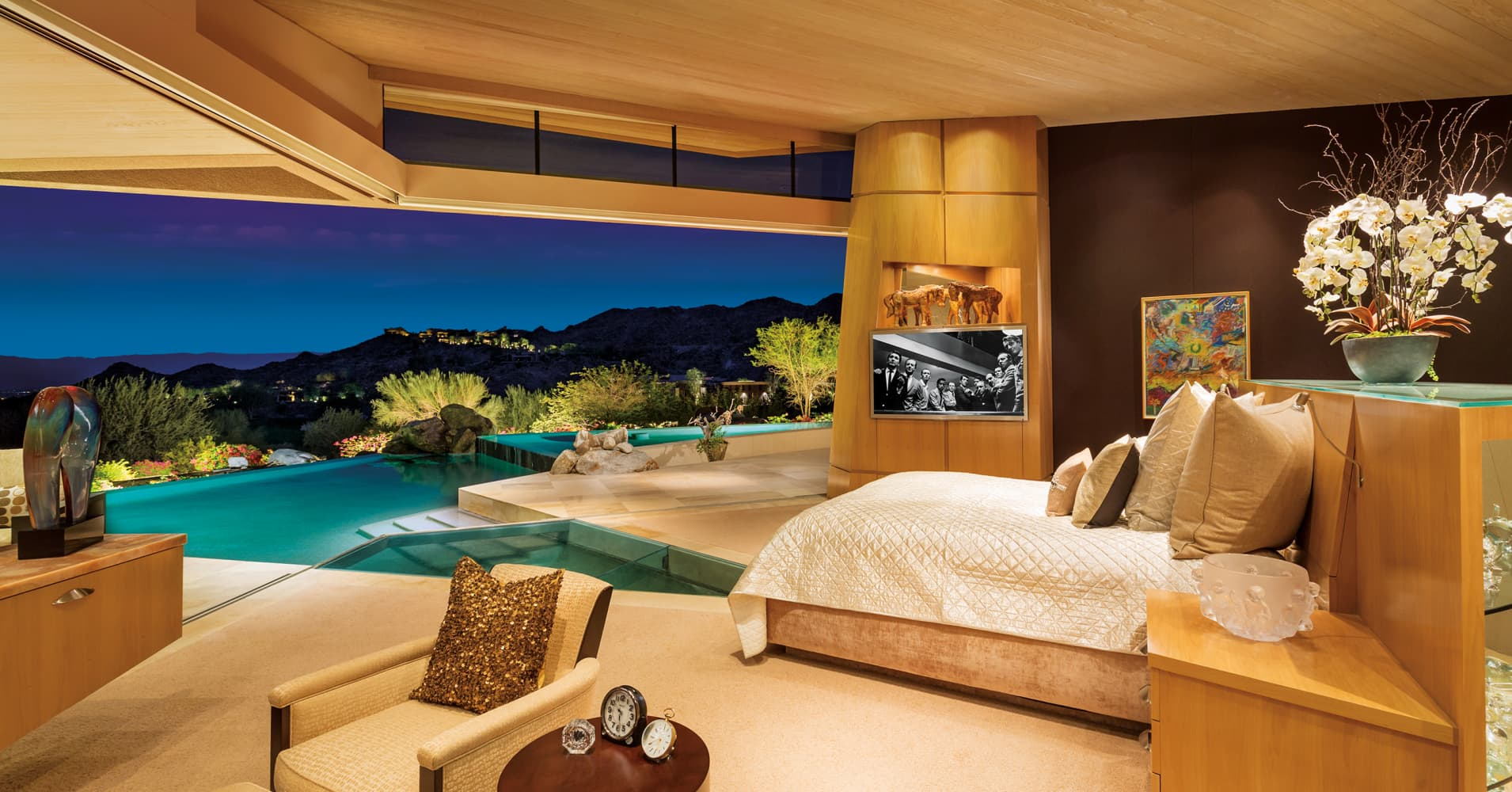 Look Inside Jerry Weintraub S 12 Million Desert Mansion