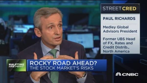 Richards: Euro is actually doing really well