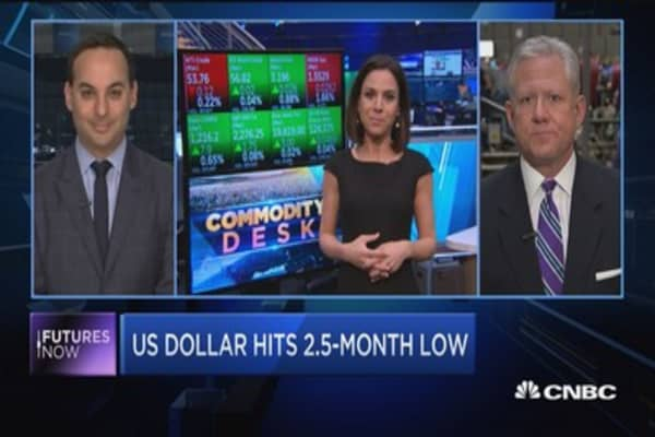 CNBC's Sharon Epperson reports on the surge in natural gas prices