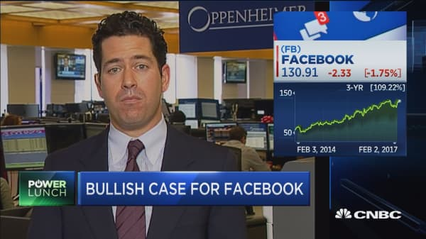 Helfstein: Controversial election helped drive FB revenue