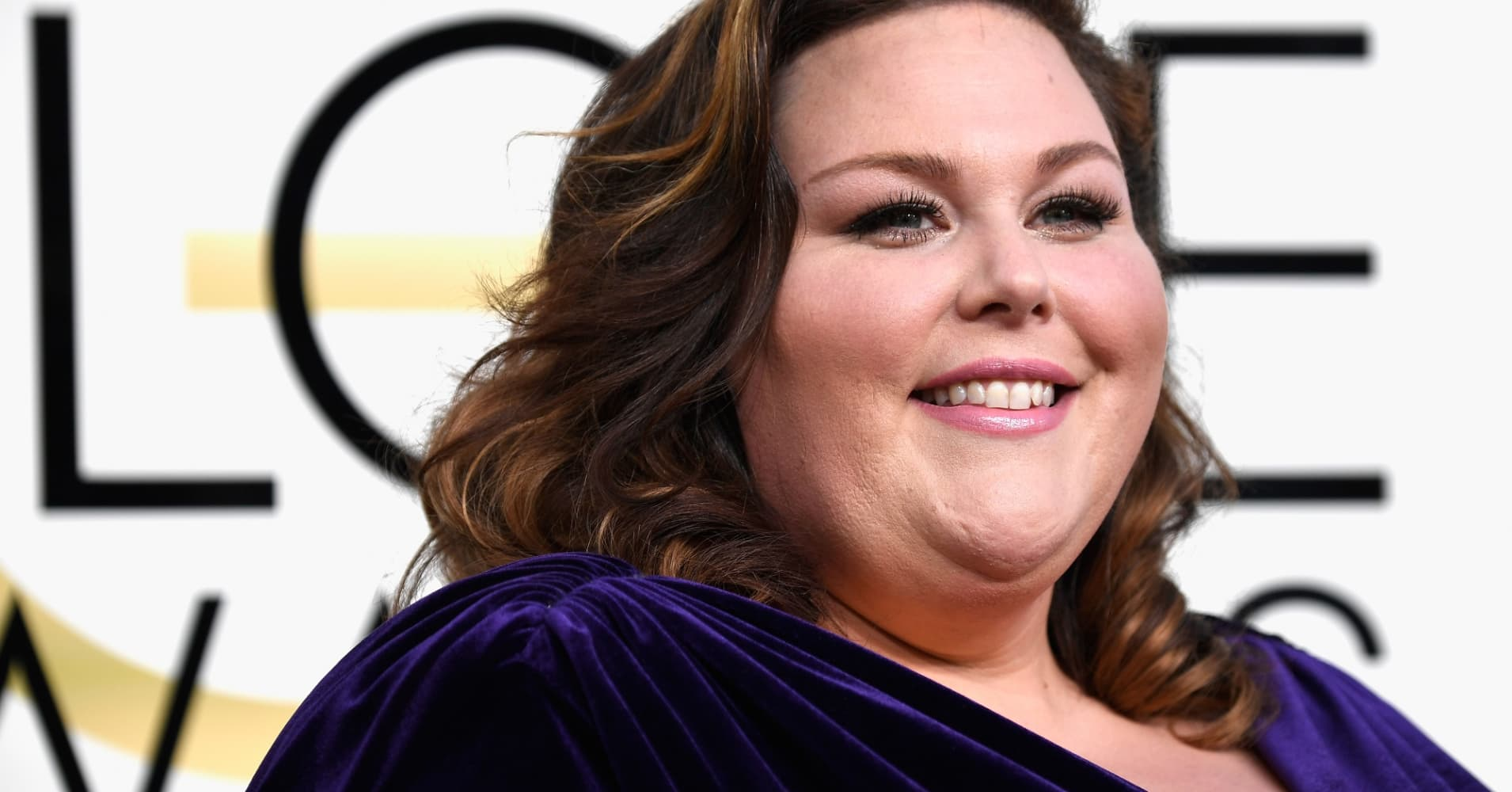 Actress Chrissy Metz attends the 74th Annual Golden Globe Awards.