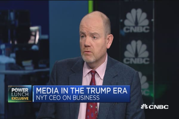 NYT CEO: It's astonishing how open Trump is