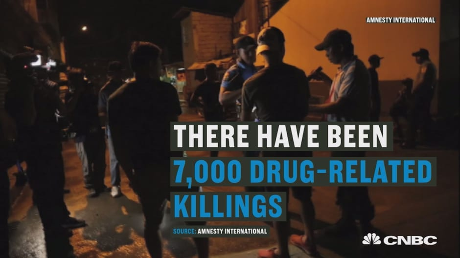 Philippines President Rodrigo Duterte's war on drugs creates more violence