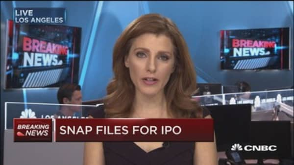 Company will trade as 'SNAP' on NYSE