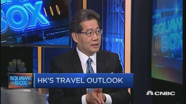 Theme parks and 'bo lo bao' in Hong Kong