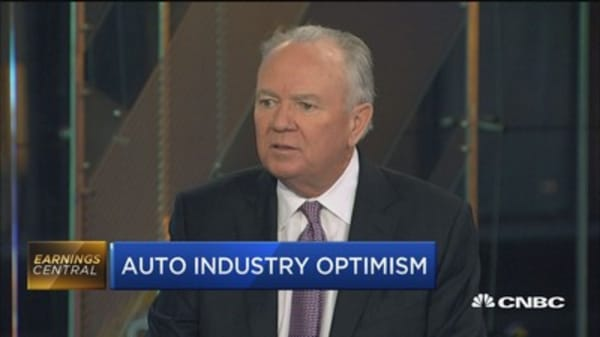 AN CEO: Talk of tariffs and border taxes causing 'headache' for auto industry