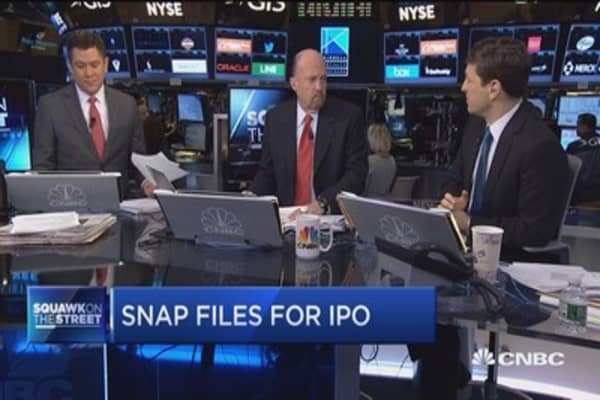 Cramer: I was not blown away by Snap's numbers