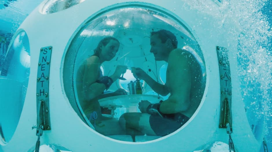 Eat in the world's first-ever scuba restaurant for $106