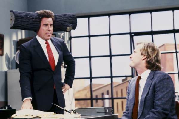Phil Hartman and Jeff Daniels on Saturday Night Live.