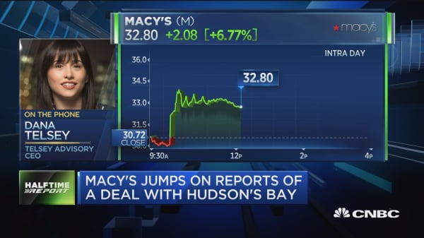 Telsey: A Macy's takeover is 'more real than not'