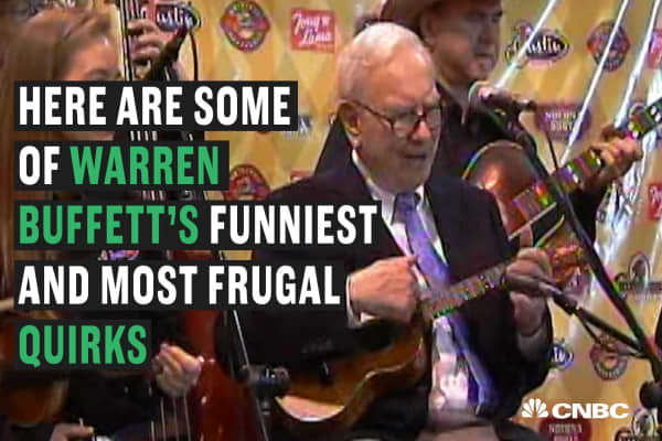 Warren Buffett's most eccentric traits