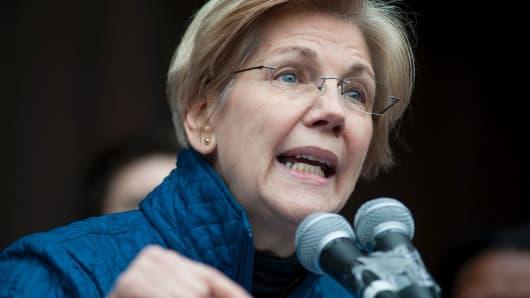 Senator Elizabeth Warren, D-MA