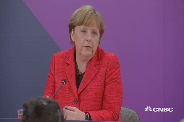 Merkel: Europe will need to stand on its own two feet