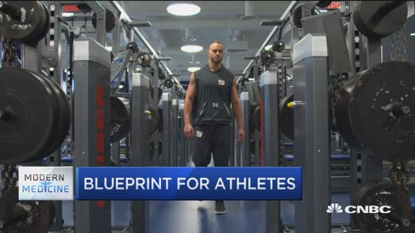 Athletes are going beyond wearable fitness trackers