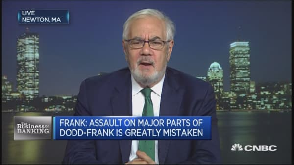 No proof loans aren't made: Barney Frank