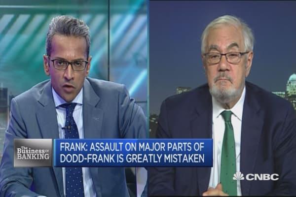 Barney Frank: Dodd-Frank needed to curb irresponsibility