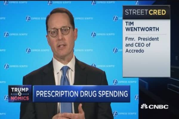 Express Scripts CEO: Negotiating lower drug pricing