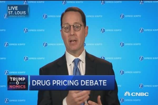 Express Scripts CEO: Transparency will bring drug prices down