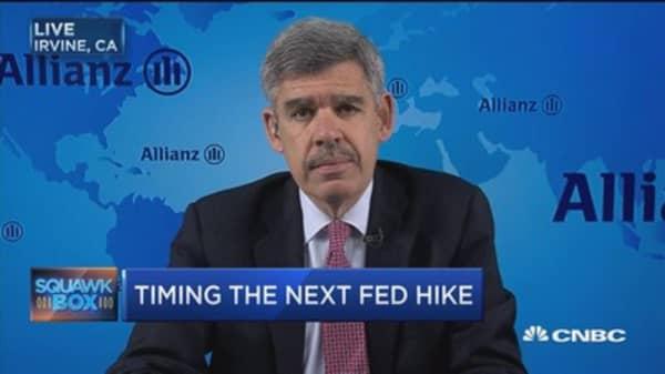 Jobs report delays Fed rate hike: El-Erian