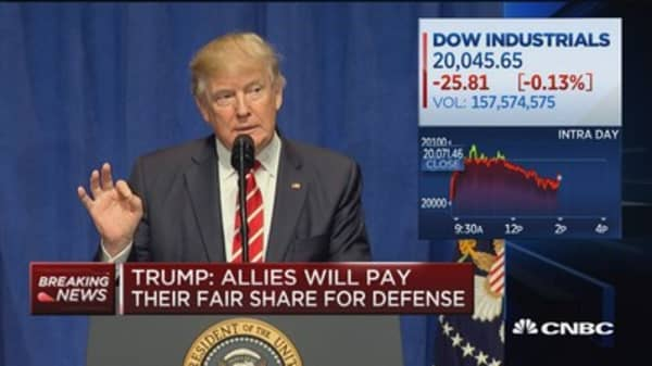 Trump: I've saved $700M by negotiating with contractors