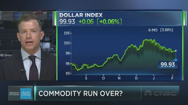 Investors pile into commodities