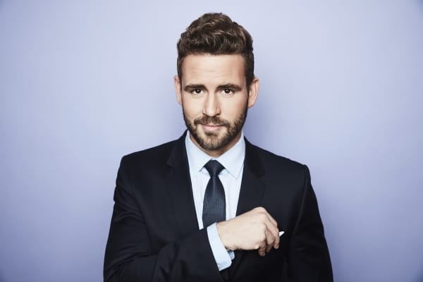 Nick Viall from ABC's 'The Bachelor' poses in the Getty Images Portrait Studio at the 2017 Winter Television Critics Association press tour.