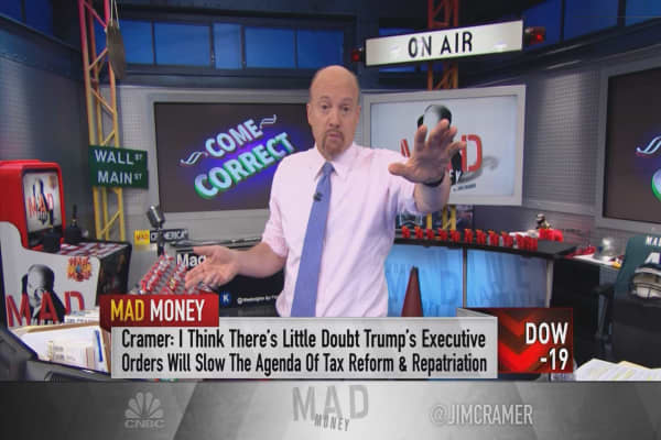 Why Cramer doesn't care about Dodd-Frank when it comes to deregulating banks