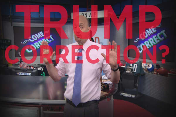 Cramer Remix: Why I do not fear a Trump-inspired market correction