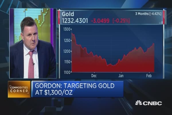 This strategist is betting on gold hitting $1,300