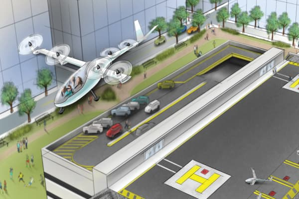 Uber are planning flying cars