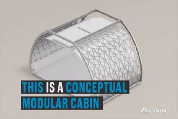 Airplane cabins of the future?