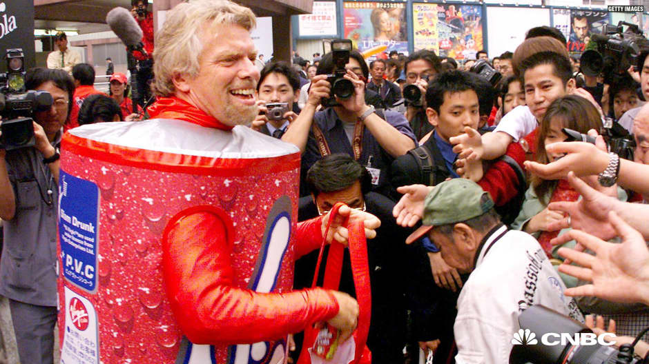 Richard Branson: What I learned when Coke ran me out of business